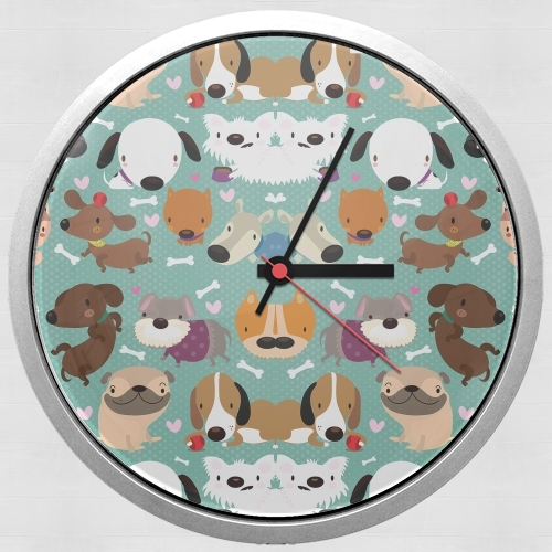 Dogs for Wall clock