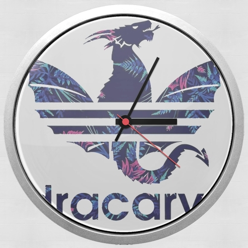 Dracarys Floral Blue for Wall clock