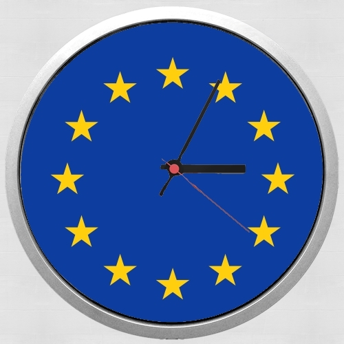 Europeen Flag for Wall clock