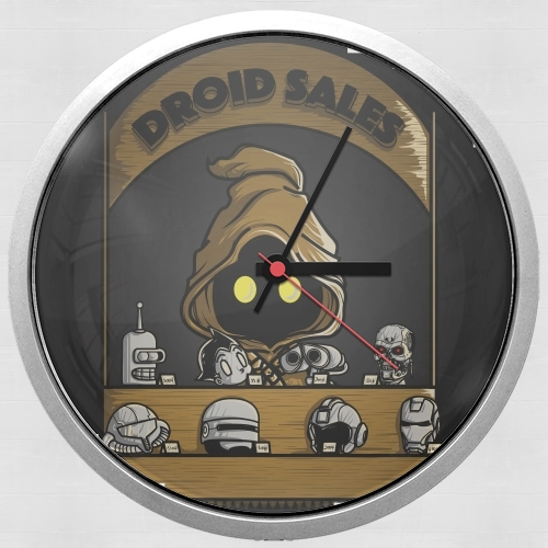 Droid Sales for Wall clock