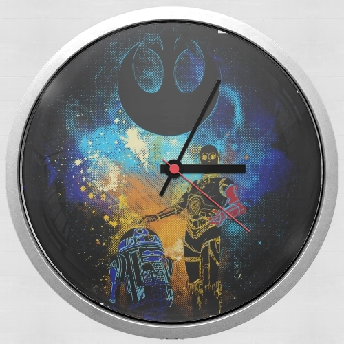 Droids Art for Wall clock