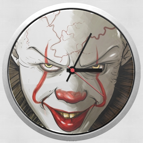 Evil Clown  for Wall clock