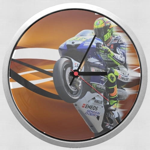 Fan de Yamaha En Feu VR46 Doctors for Wall clock
