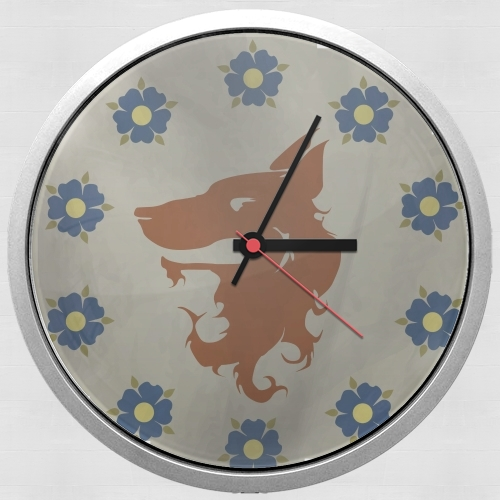 Flag House Florent for Wall clock