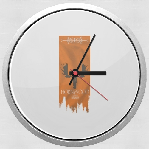 Flag House Hornwood for Wall clock