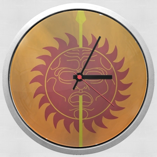 Flag House Martell for Wall clock