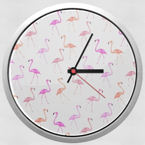 FLAMINGO BINGO for Wall clock