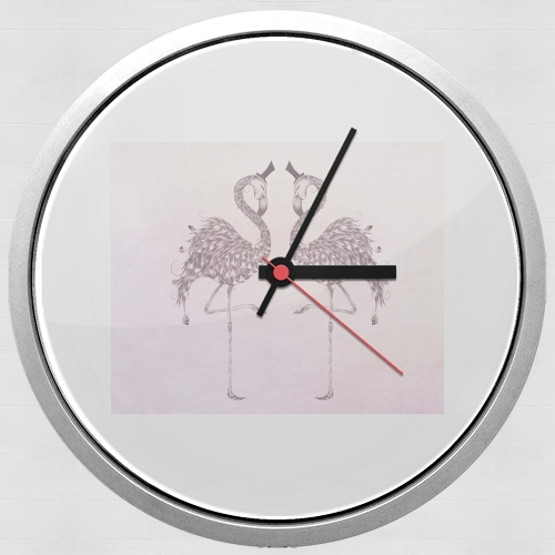 Flamingo for Wall clock
