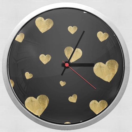 Floating Hearts for Wall clock