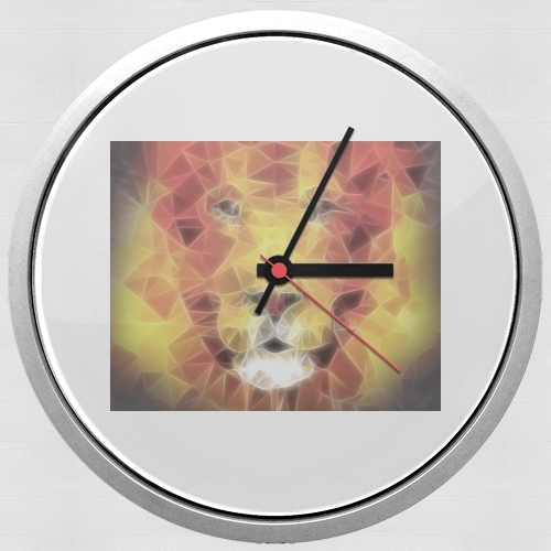 fractal lion for Wall clock