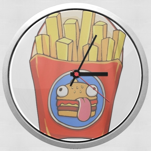 French Fries by Fortnite for Wall clock