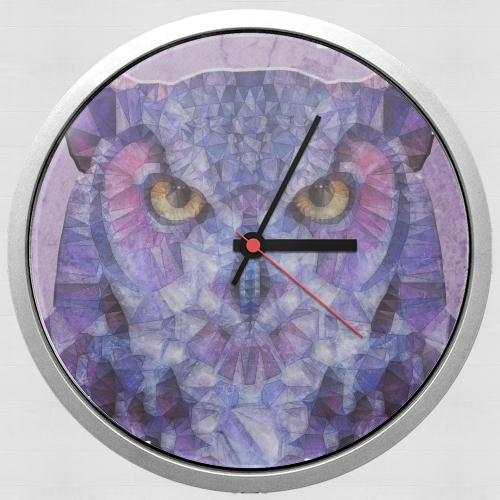 funny owl for Wall clock
