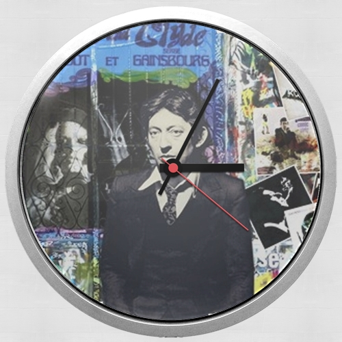Gainsbourg Smoke for Wall clock