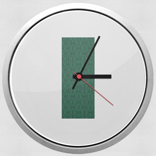 GREEN MAYHEM for Wall clock