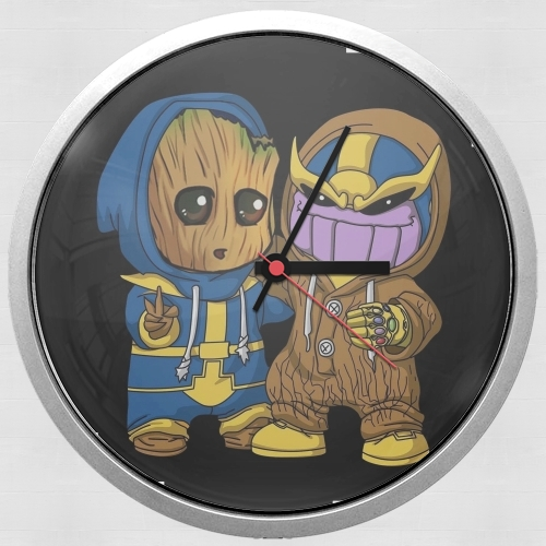 Groot x Thanos for Wall clock