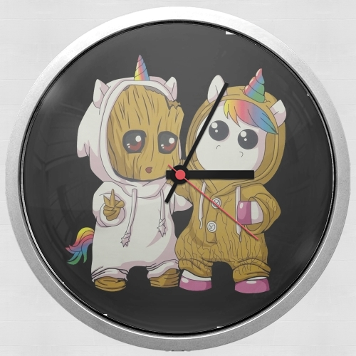 Groot x Unicorn for Wall clock
