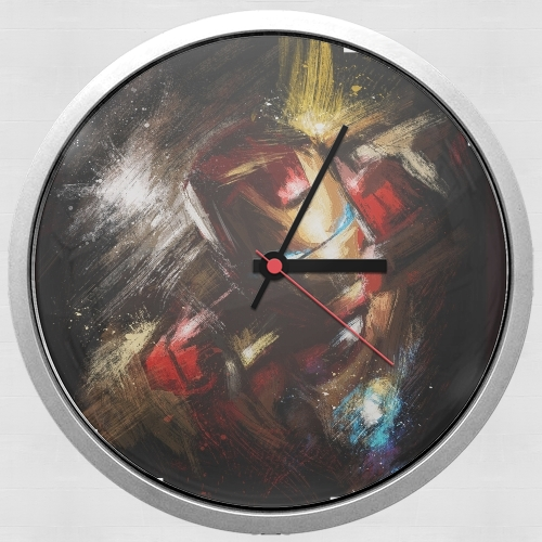 Grunge Ironman for Wall clock