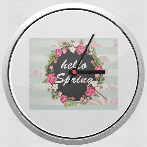 HELLO SPRING for Wall clock