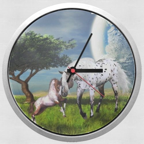Horses Love Forever for Wall clock