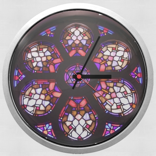 Iglesia del Valle Rosary Window for Wall clock