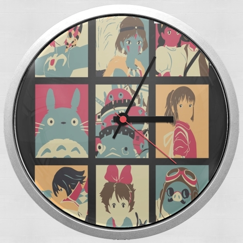 Japan pop for Wall clock