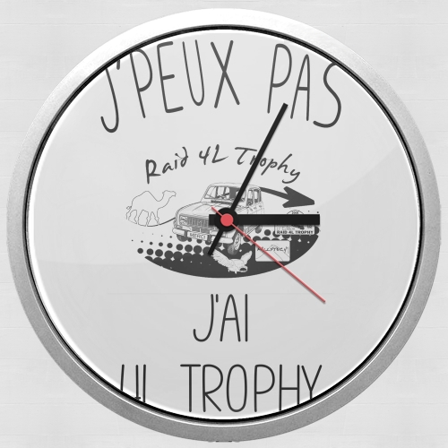 Je peux pas jai 4L Trophy for Wall clock