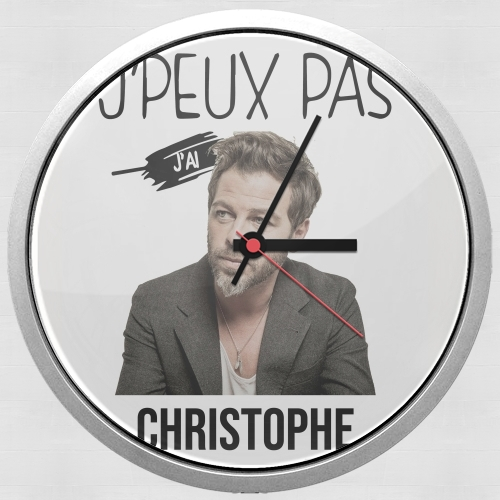 Je peux pas jai christophe mae for Wall clock