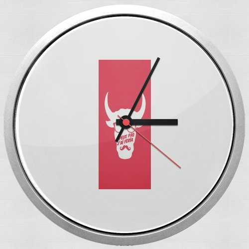 Je peux pas jai feria for Wall clock