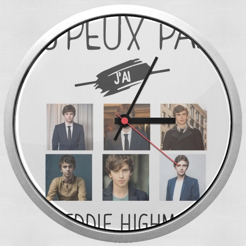 Je peux pas jai Freddie Highmore Collage photos for Wall clock