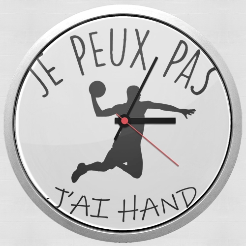 Je peux pas jai handball for Wall clock