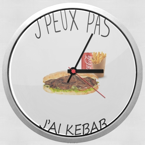 Je peux pas jai kebab for Wall clock