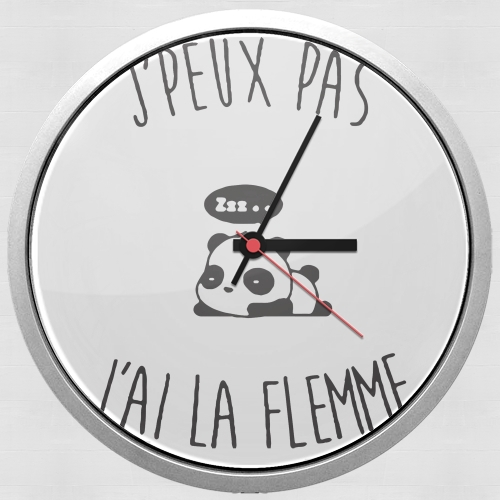 Je peux pas jai la flemme for Wall clock