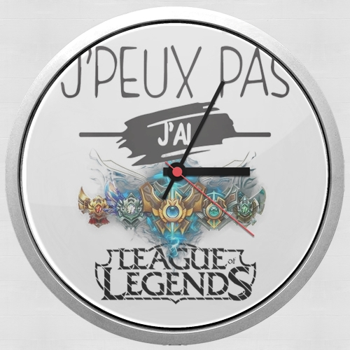 Je peux pas jai league of legends for Wall clock