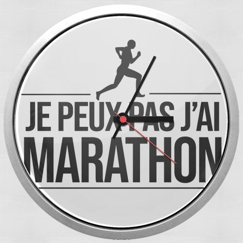 Je peux pas jai marathon for Wall clock