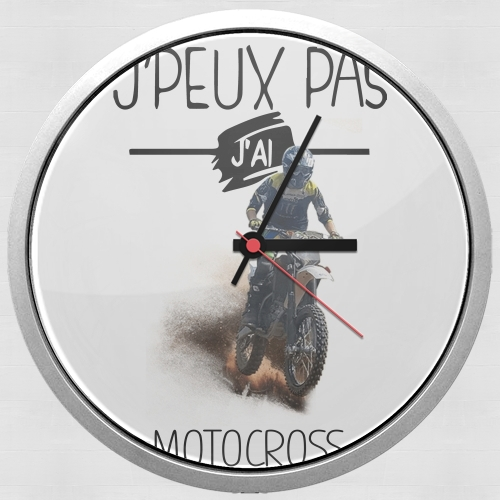 Je peux pas jai motocross for Wall clock