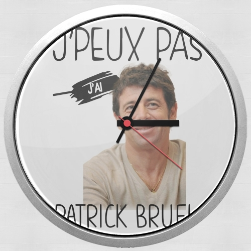 Je peux pas jai Patrick Bruel for Wall clock