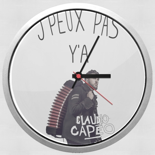 Je peux pas ya claudio capeo for Wall clock