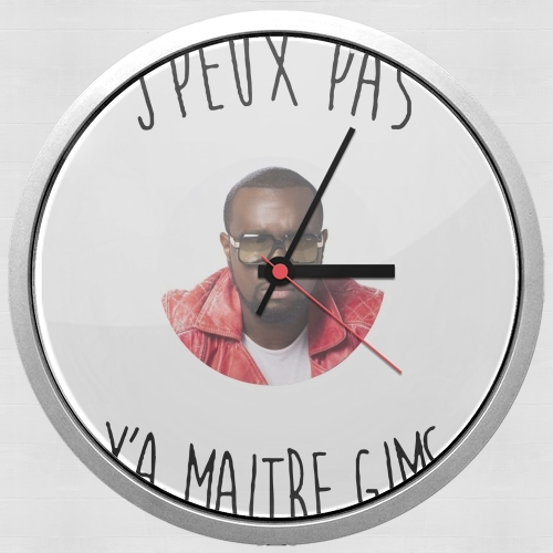 Je peux pas ya maitre gims for Wall clock