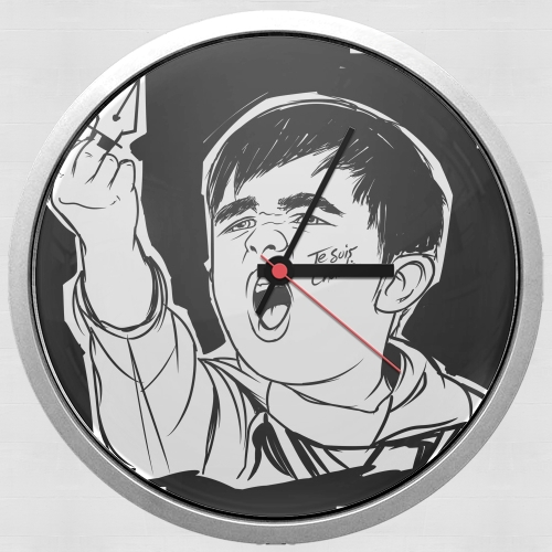 Je Suis Charlie for Wall clock