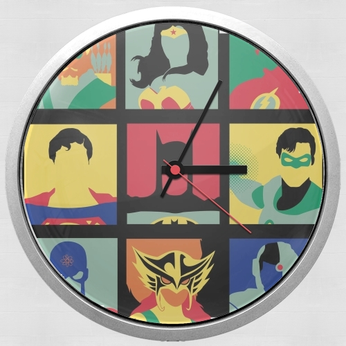 Justice pop for Wall clock