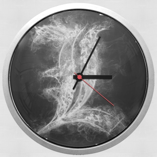 L Smoke Death Note for Wall clock
