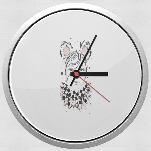 Lady Circus for Wall clock