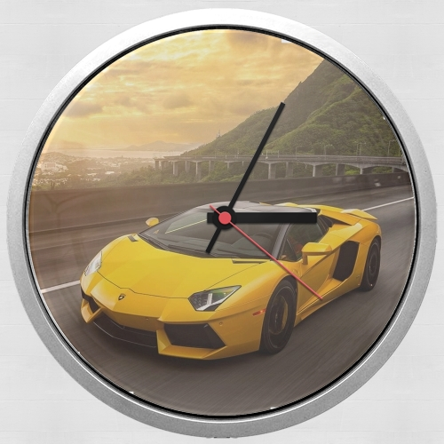 lamborghini for Wall clock