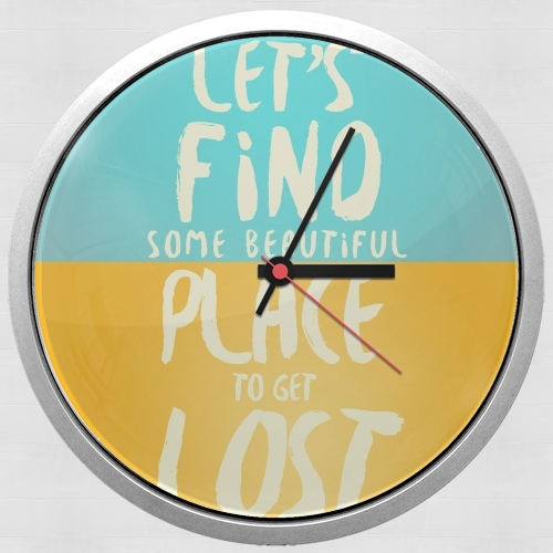 Let's find some beautiful place for Wall clock