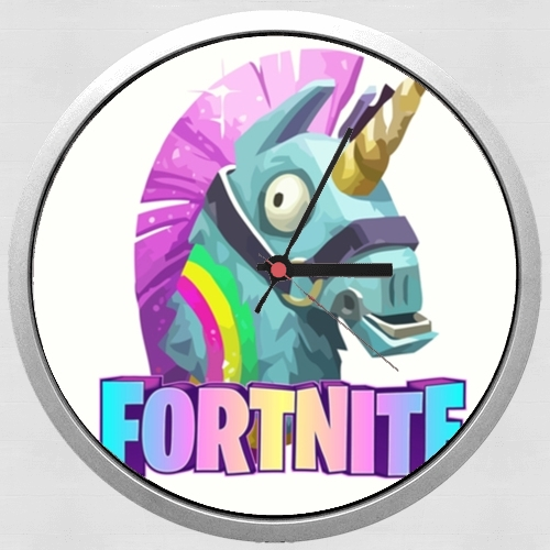 Unicorn video games Fortnite for Wall clock