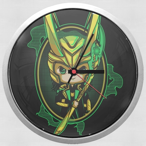 Loki Portrait for Wall clock