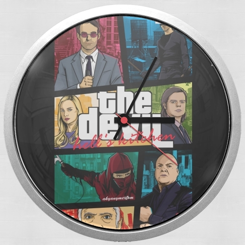 Mashup GTA The Devil for Wall clock