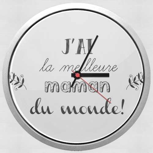 Meilleure maman du monde for Wall clock