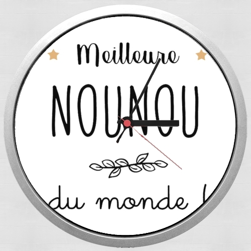 Meilleure nounou du monde for Wall clock