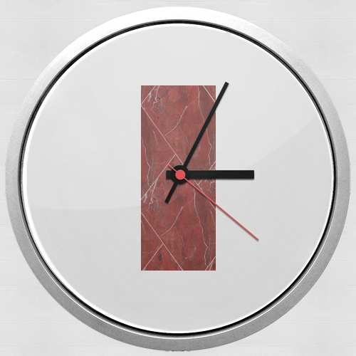 Minimal Marble Red for Wall clock